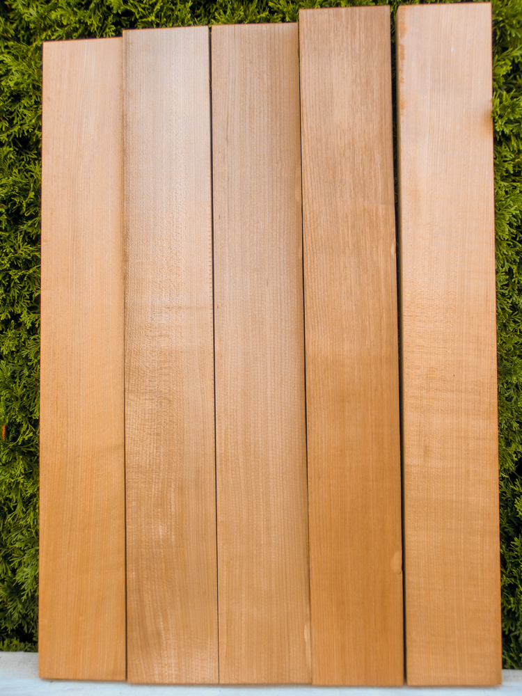Tempered Northern Red Pine Body Blank